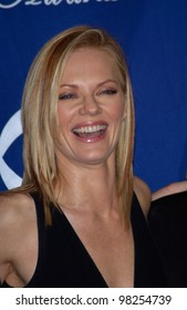 Actress MARG HELGENBERGER at the 29th Annual People's Choice Awards in Pasadena. 12JAN2003.   Paul Smith / Featureflash