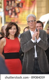 Actress Mary Steenburgen & husband Ted Danson was honored today with the 2,395th star on the world-famous Hollywood Walk of Fame. December 16, 2009  Los Angeles, CA Picture: Paul Smith / Featureflash