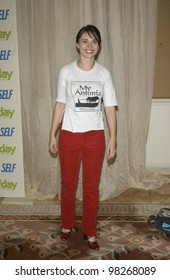 Actress MEGAN GRAY at the 4th Annual Self Day Celebration at the Peninsula Hotel, Beverly Hills. April 9, 2003