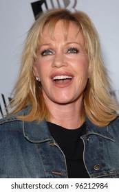 """Actress MELANIE GRIFFITH, star of TV series """"Twins"""", at the WB TV Network's 2005 All Star Celebration in Hollywood. July 22, 2005  Los Angeles, CA  2005 Paul Smith / Featureflash"""