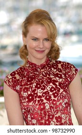 Actress NICOLE KIDMAN at the Cannes Film Festival where her movie Moulin Rouge is opening the Festival 09MAY2001  Paul Smith/Featureflash