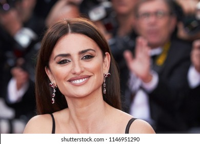"""Actress Penelope Cruz attends the screening of """"Everybody Knows"""" and the opening gala during the 71st annual Cannes Film Festival at Palais des Festivals on May 8, 2018 in Cannes, France."""