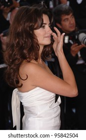"Actress PENELOPE CRUZ at the gala screening for ""Marie Antoinette"" at the 59th Annual International Film Festival de Cannes. May 24, 2006  Cannes, France.  2006 Paul Smith / Featureflash"