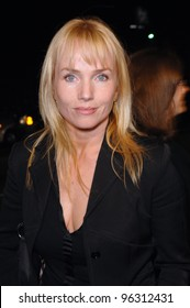 """Actress REBECCA DE MORNAY at a tribute concert, """"I Walk The Line: A Night For Johnny Cash"""", at the Pantages Theatre, Hollywood.  October 25, 2005 Los Angeles, CA  2005 Paul Smith / Featureflash"""