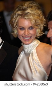 Actress REBECCA ROMIJN-STAMOS at the Cannes Film Festival for the premiere of her new movie Femme Fatale. 25MAY2002.  Paul Smith / Featureflash
