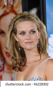 Actress REESE WITHERSPOON at the Los Angeles premiere of her new movie Just Like Heaven at the Grauman's Chinese Theatre, Hollywood. September 8, 2005  Los Angeles, CA  2005 Paul Smith / Featureflash