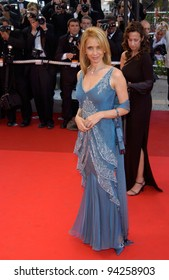 Actress ROSANNA ARQUETTE at the screening of Hollywood Ending at the gala opening of the 2002 Cannes Film Festival. 15MAY2002.  Paul Smith / Featureflash