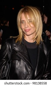 Actress ROSANNA ARQUETTE at the world premiere, in Hollywood, of Domestic Disturbance.  30OCT2001.   Paul Smith/Featureflash