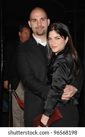 "Actress SELMA BLAIR & husband AHMET ZAPPA at the Los Angeles premiere of ""Thank You For Smoking"". March 16, 2006  Los Angeles, CA  2006 Paul Smith / Featureflash"
