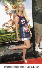 Actress SHAUNE BAGWELL at the Los Angeles premiere of Rugrats Go Wild. June 1, 2003