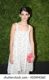 Actress Sofia Black D'Elia attends the 11th Annual Chanel Tribeca Film Festival Artists Dinner at Balthazar on April 18, 2016 in New York City.