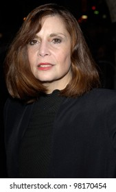 Actress TALIA SHIRE at the Hollywood premiere of Slackers. 29JAN2002   Paul Smith/Featureflash