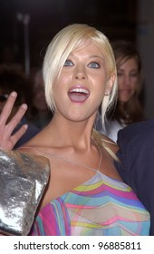 Actress TARA REID at the world premiere, in Los Angeles, of I, Robot. July 7, 2004