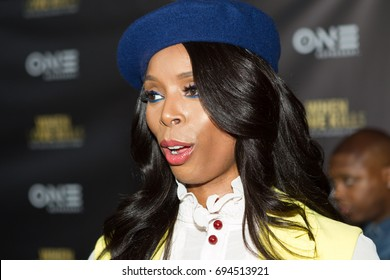 """Actress Tasha Smith arrives at the TV One Premiere of """" WHEN LOVE KILLS """" on Wednesday, August 9, 2017 at the Regal Atlantic Station in  Atlanta, Georgia - USA"""