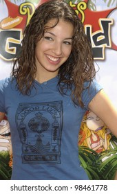 Actress VANESSA LENGIES at the Los Angeles premiere of Rugrats Go Wild. June 1, 2003