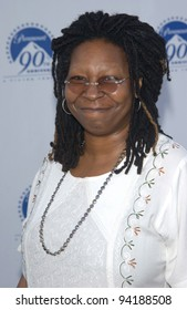 Actress WHOOPI GOLDBERG at the Paramount Pictures 90th Anniversary Gala at Paramount Studios, Hollywood. 14JUL2002.   Paul Smith / Featureflash