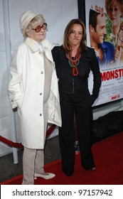 Actresses ELAINE STRITCH (left) & STOCKARD CHANNING at the Los Angeles premiere for Stritch's new movie Monster in Law. April 29, 2005 Los Angeles, CA.  2005 Paul Smith / Featureflash