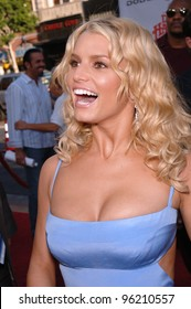 Actress/pop star JESSICA SIMPSON at the Los Angeles premiere of her new movie The Dukes of Hazzard. July 28, 2005 Los Angeles, CA  2005 Paul Smith / Featureflash