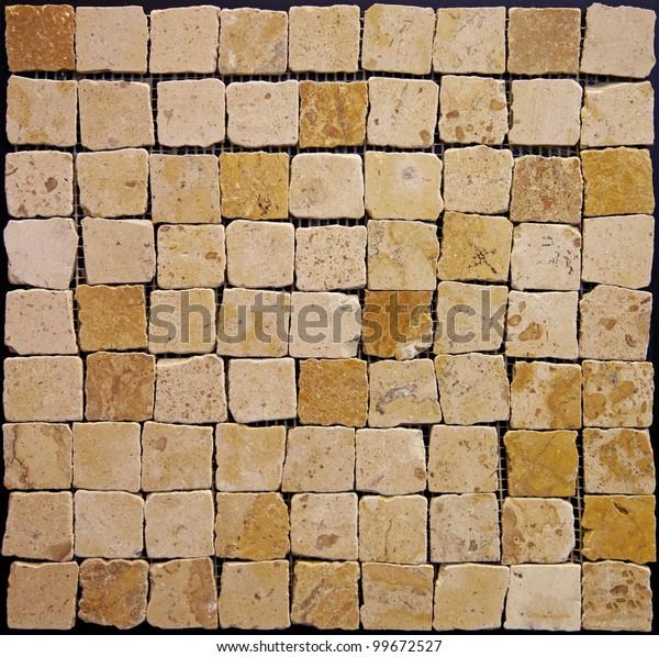 Actual Texture Ceramic Mosaics Stock Photo (Edit Now) 99672527