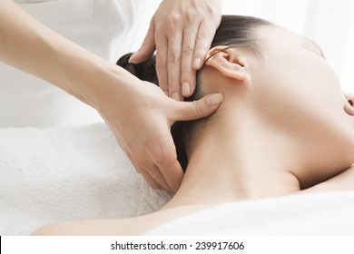 Acupressure neck massage