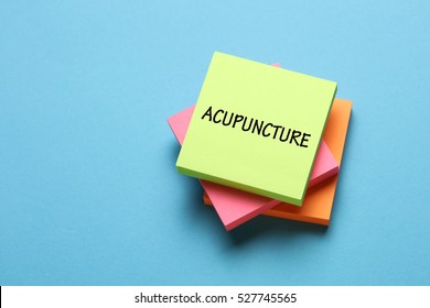 Acupuncture, Health Concept