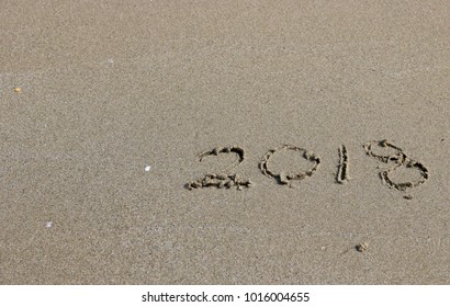 Ad  2018 on the sand