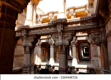 Adalaj Stepwell is a Hindu building in the village of Adalaj near Ahmedabad in the Indian state of Gujarat.