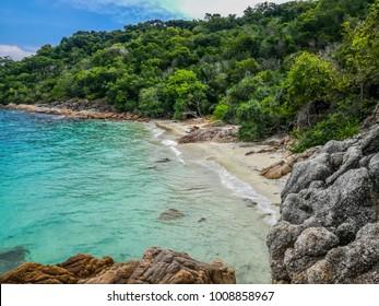 Adam and Eve beach, Small Perhentian Island (kecil), Malaysia