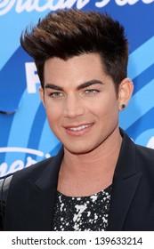 Adam Lambert at the American Idol Season 12 Finale Arrivals, Nokia Theater, Los Angeles, CA 05-16-13