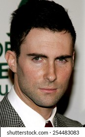 Adam Levine of Maroon 5 attends the Global Green USA Pre-Oscar Celebration to Benefit Global Warming held at the The Avalon in Hollywood, California on February 21, 2007.