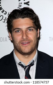 """Adam Pally at the Paley Center For Media Presents An Evening with """"Happy Endings"""" & """"Don t Trust the B---- in Apartment 23,""""  Paley Center, Beverly Hills, CA 10-16-12"""