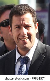 Adam Sandler at Adam Sandler's Star on the Hollywood Walk of Fame ceremony, Hollywood, CA. 02-01-11