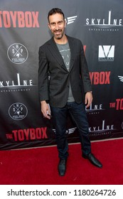"""Adam William Ward attends  Skyline Entertainment's  """"The ToyBox"""" Los Angeles  Premiere at Laemmle's NoHo 7, North Hollywood, California on September 14th, 2018"""