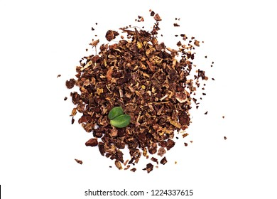 Adaptogenic herb Rhodiola rosea (Golden root) isolated on white background. Rhodiola rosea is in Ayurveda and alternative medicine used for increasing endurance, strength and coping with stress.