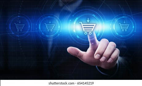 Add To Cart Internet Web Store Buy Online concept