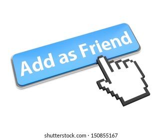 Add as friend button icon