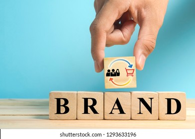 add repeat buying symbol as build brand loyalty concept