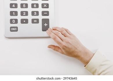 Additional Math  - Hand using calculator