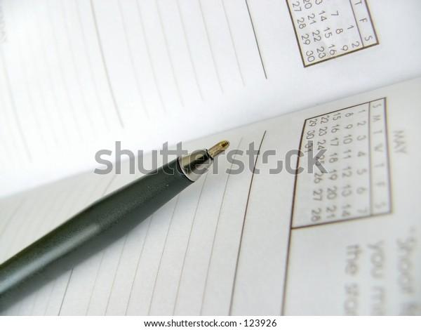 address book shallow dof
