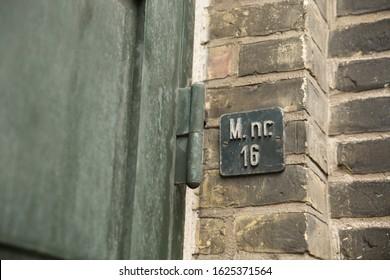 Address Number Near Front Door