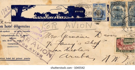 Addressed Envelope from the 1940's