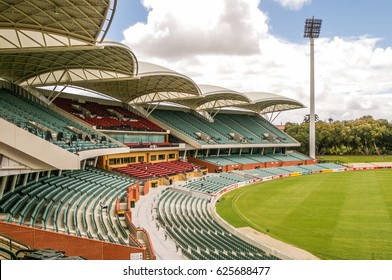 Adelaide Australia 5 Febuary 2012 Adelaide Oval is the venue for the South Australian  Cricket team known as the Redbacks