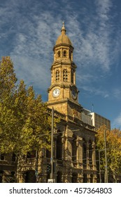 Adelaide Australia, July 5  2015 The Adelaide Town Hall is the is the business center for the Adelaide City Council