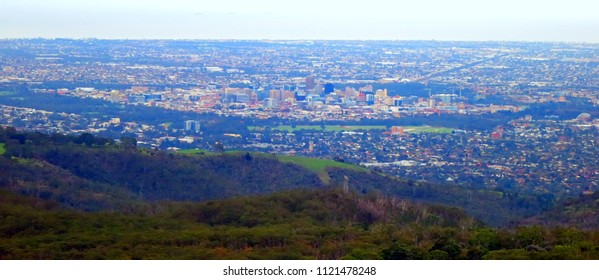 Adelaide Cityscape from Adelaide Hills