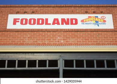ADELAIDE - MAY 14 2019:Foodland Supermarket. Foodland is an Australian supermarket brand with 120 locations, primarily in South Australia, but also in the Northern Territory.