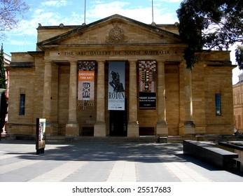 Adelaide - November 1: Art Gallery of South Australia on November 1, 2006.