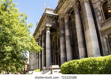 Adelaide, November 2016 - Parliament House in Adelaide
