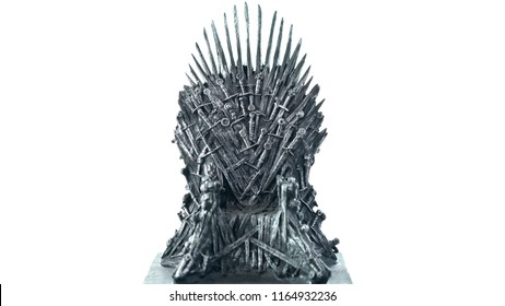 MADE IN USA Large 3D Printed Game Of Thrones The Iron Throne Replica