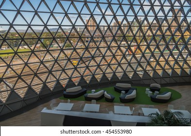 Adelaide South Australia 25 January 2015 ,  The SAHMRI building is a World Class research institute in the heart of Adelaide