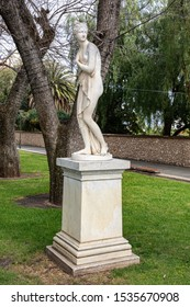 Adelaide, South Australia / Australia - October 19 2019: Venus, erected in1872 a direct copy of the sculpture by Antonio Canova. North Terrace, Adelaide.